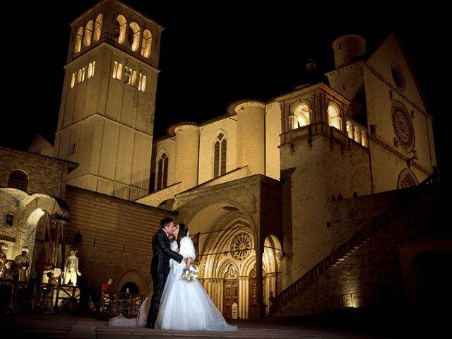 Il matrimonio di Simone e Elisa a Spello, Perugia 59