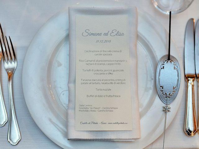 Il matrimonio di Simone e Elisa a Spello, Perugia 62