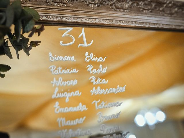 Il matrimonio di Simone e Elisa a Spello, Perugia 77