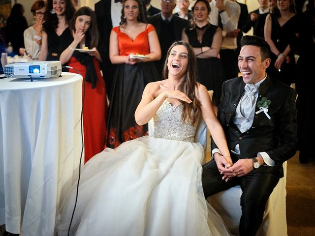 Il matrimonio di Simone e Elisa a Spello, Perugia 88