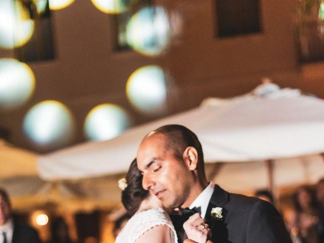 Le nozze di Alexandra e Jon