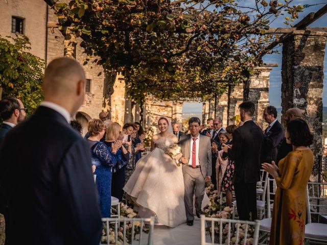 Il matrimonio di Giovanni e Phuong a Varese, Varese 34