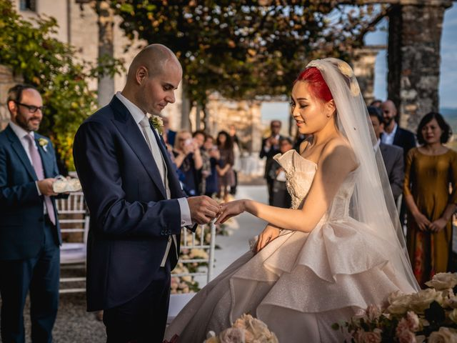 Il matrimonio di Giovanni e Phuong a Varese, Varese 35