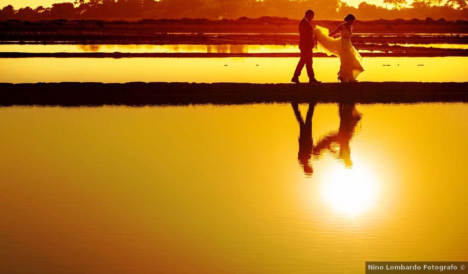 Il matrimonio di Fabio e Cinzia a Marsala, Trapani