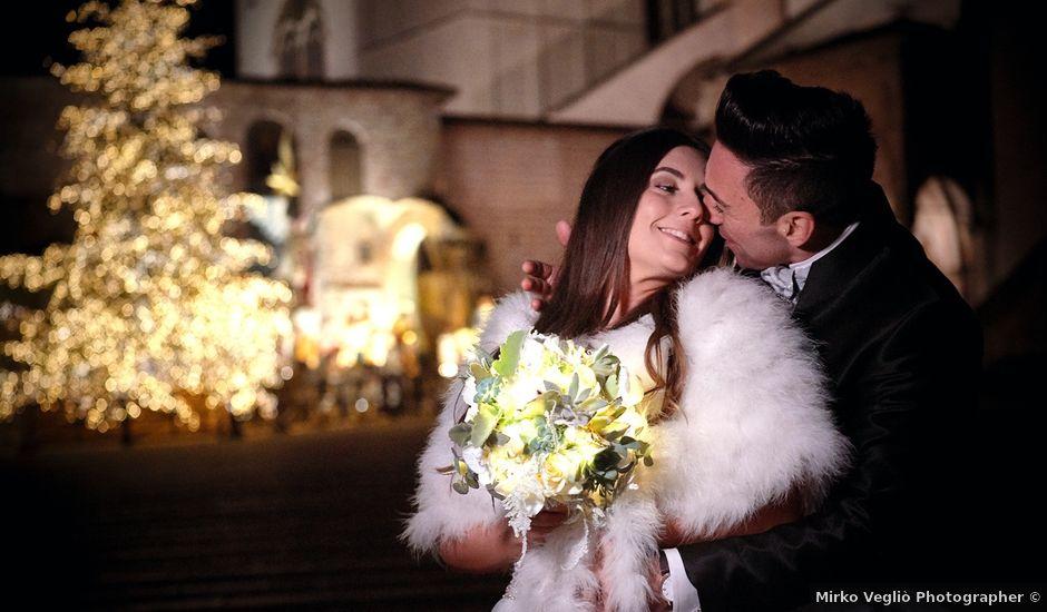 Il matrimonio di Simone e Elisa a Spello, Perugia