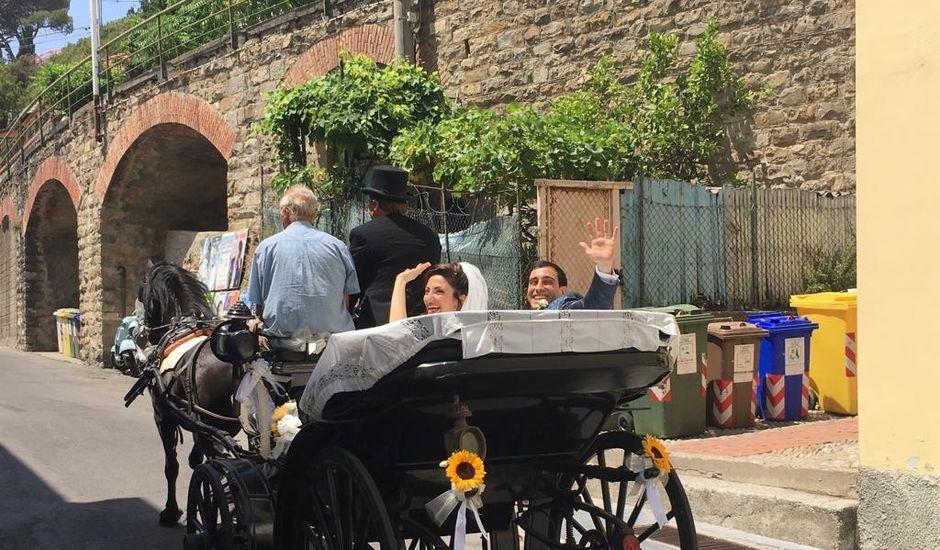 Il matrimonio di Giuseppe  e Agata a Taggia, Imperia