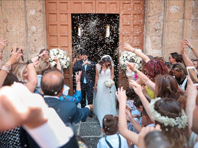 Il matrimonio di Vincenzo e Rosaria a Aversa, Caserta 75
