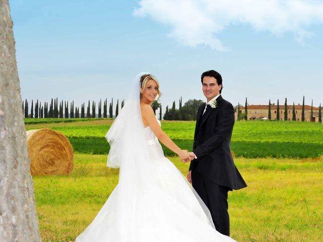 Il matrimonio di Andrea e Martina a Larciano, Pistoia 1