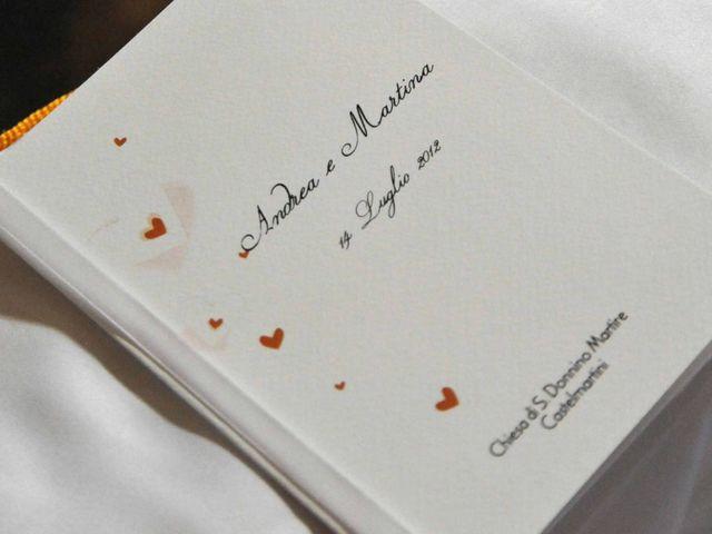 Il matrimonio di Andrea e Martina a Larciano, Pistoia 12