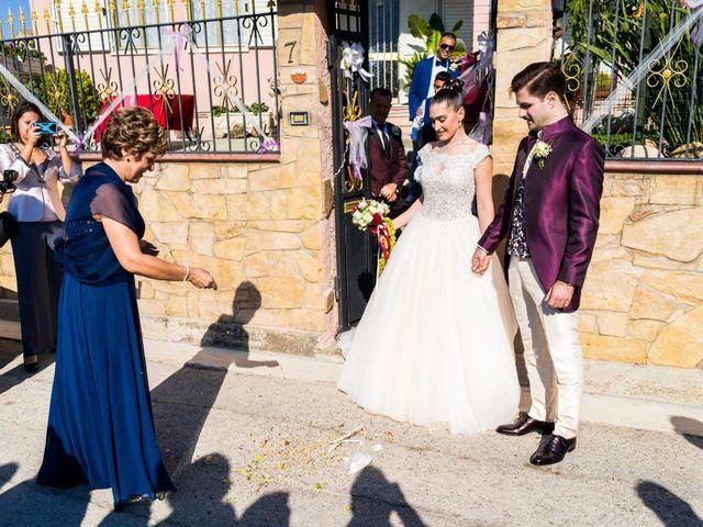 Il matrimonio di Valerio e Albina a Gesturi, Cagliari 11
