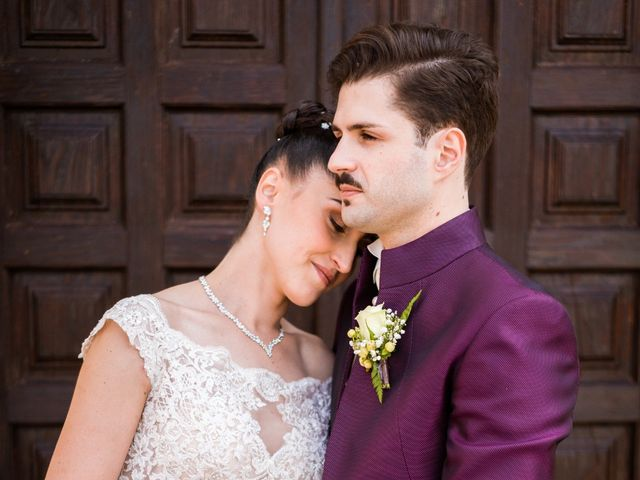 Il matrimonio di Valerio e Albina a Gesturi, Cagliari 21
