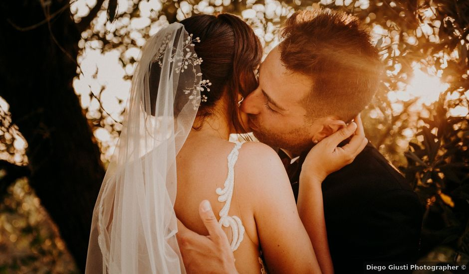 Il matrimonio di Riccardo e Linda a Fauglia, Pisa