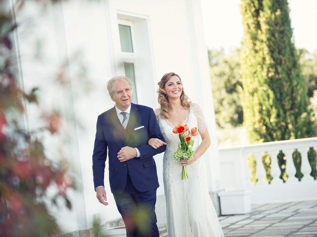 Il matrimonio di Andrea e Consuelo a Bassano Romano, Viterbo 28