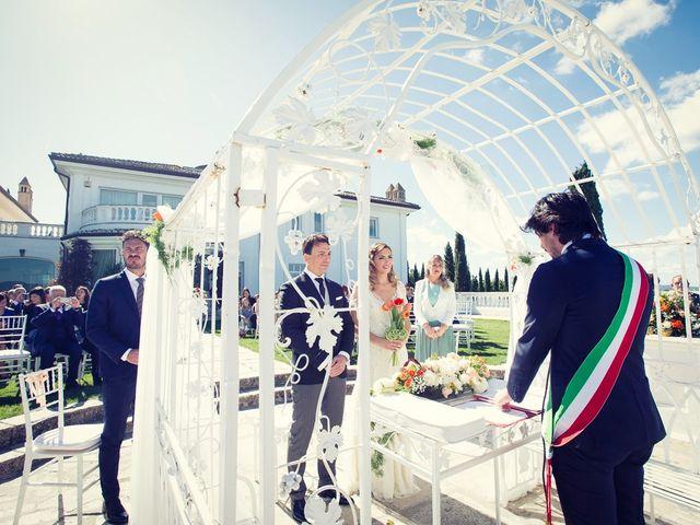Il matrimonio di Andrea e Consuelo a Bassano Romano, Viterbo 29