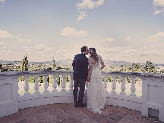 Il matrimonio di Andrea e Consuelo a Bassano Romano, Viterbo 41