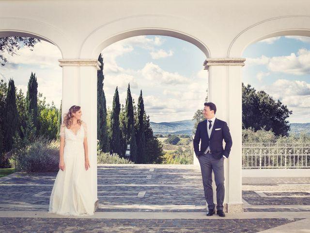 Il matrimonio di Andrea e Consuelo a Bassano Romano, Viterbo 43