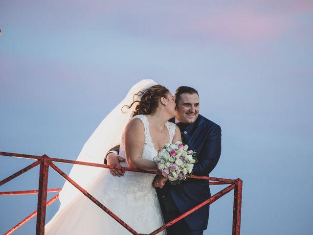 Le nozze di Adriano e Fabiana