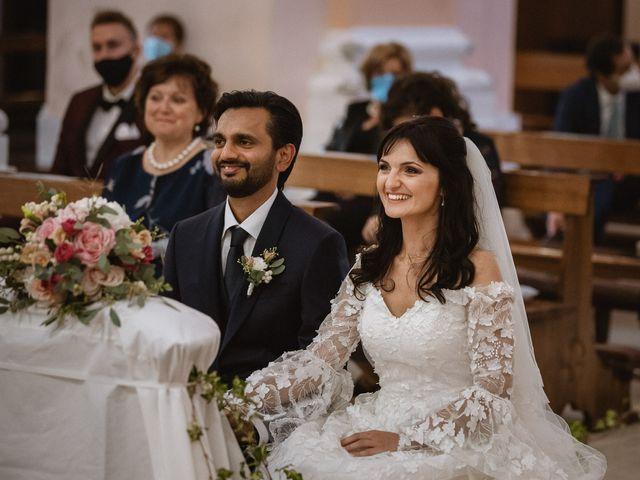 Il matrimonio di Madhu e Cristina a Grottammare, Ascoli Piceno 39