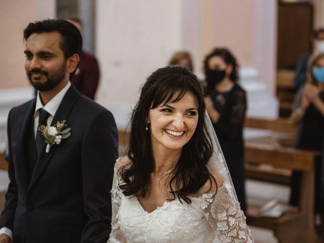 Il matrimonio di Madhu e Cristina a Grottammare, Ascoli Piceno 43