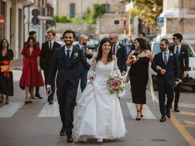 Il matrimonio di Madhu e Cristina a Grottammare, Ascoli Piceno 55