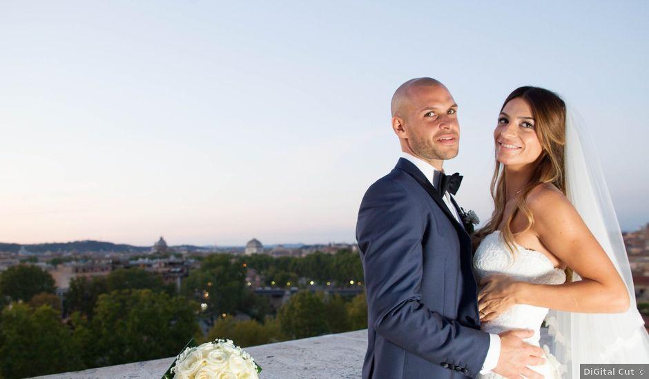 Il matrimonio di Simone e Alessandra a Roma, Roma