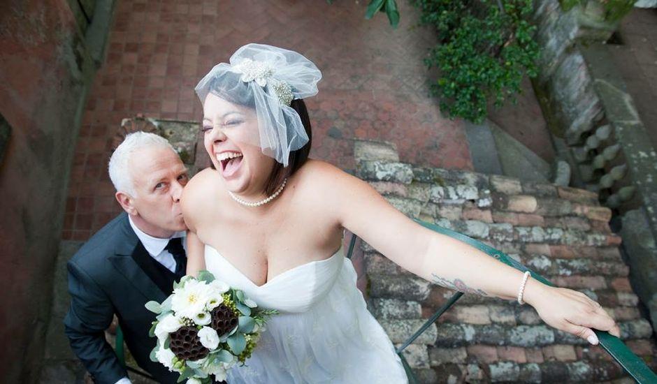Il matrimonio di Alessandro  e Lidia a Grottaferrata, Roma