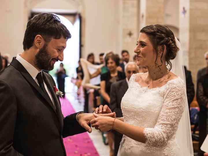 le nozze di Antonella e Mauro
