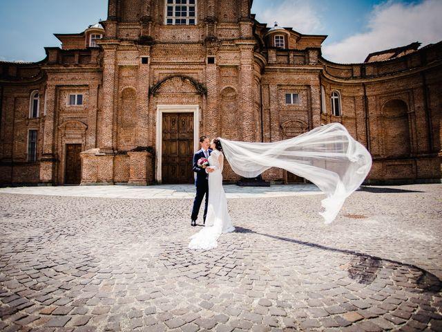 Il matrimonio di Fabio e Giulia a Venaria Reale, Torino 47