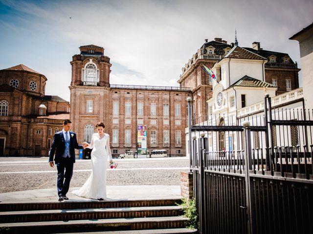 Il matrimonio di Fabio e Giulia a Venaria Reale, Torino 52