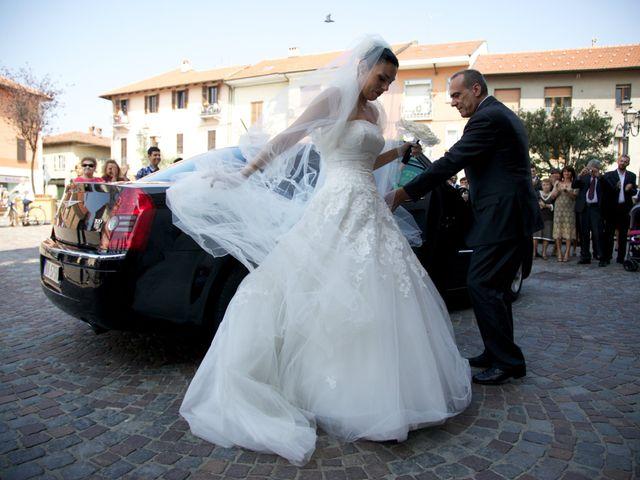 Il matrimonio di Fabio e Stefania a Orbassano, Torino 10