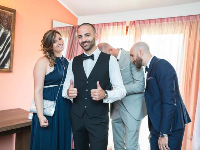 Il matrimonio di Antonio e Luana a Vergiate, Varese 9