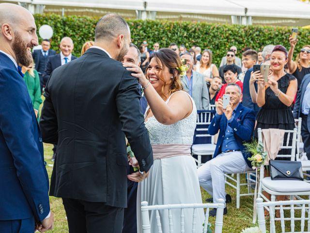 Il matrimonio di Antonio e Luana a Vergiate, Varese 31