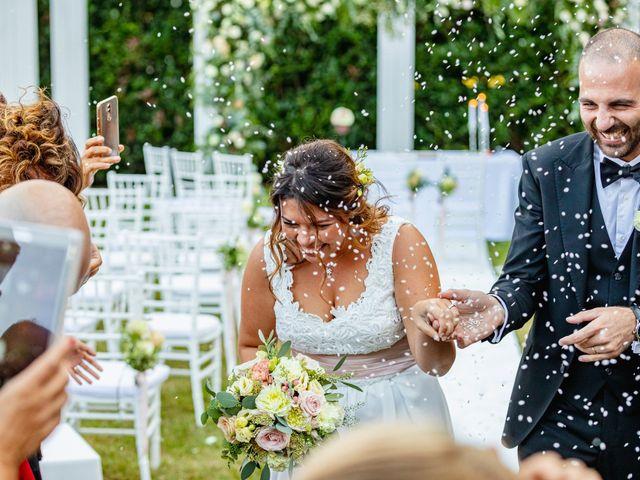 Il matrimonio di Antonio e Luana a Vergiate, Varese 57