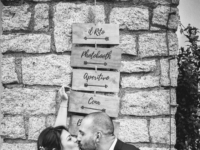 Il matrimonio di Antonio e Luana a Vergiate, Varese 64