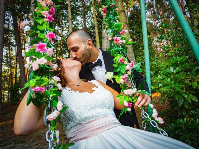 Il matrimonio di Antonio e Luana a Vergiate, Varese 69