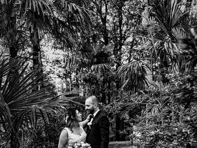 Il matrimonio di Antonio e Luana a Vergiate, Varese 83