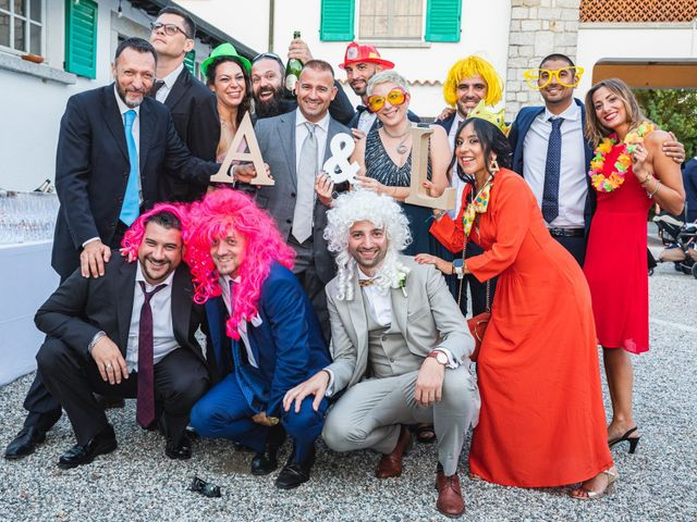 Il matrimonio di Antonio e Luana a Vergiate, Varese 95