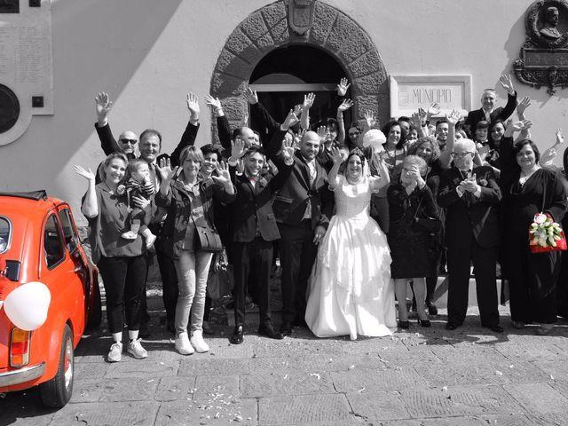 Il matrimonio di Michele e Katia a Pieve a Nievole, Pistoia 1