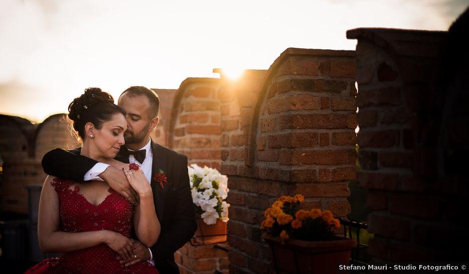 Il matrimonio di David e Serena a Godiasco, Pavia