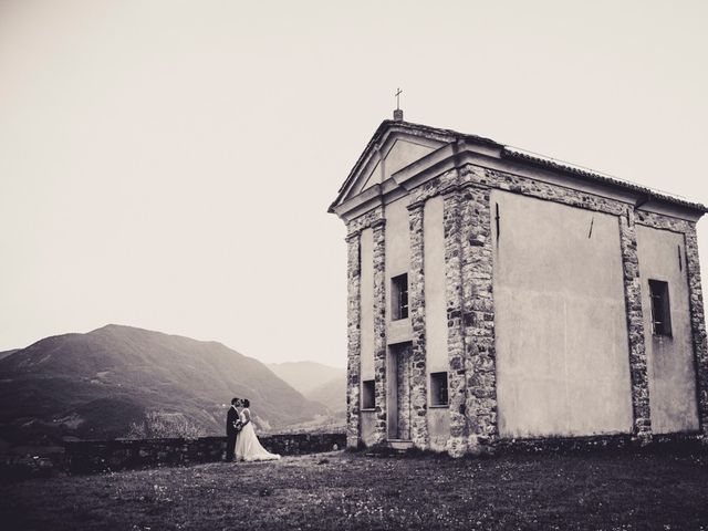 Il matrimonio di Cristian e Martina a Bobbio, Piacenza 15