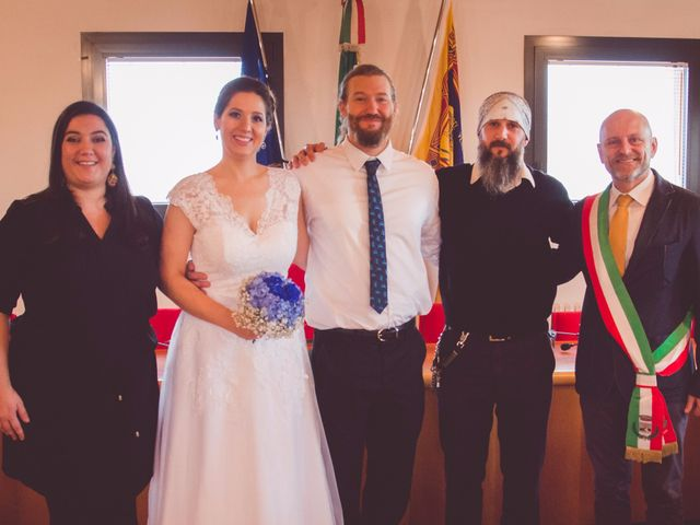 Il matrimonio di Helena e Ryan a Monticello Conte Otto, Vicenza 7