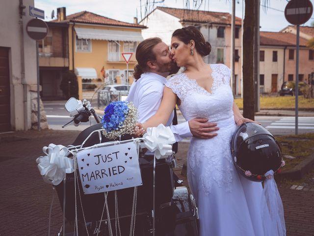 Il matrimonio di Helena e Ryan a Monticello Conte Otto, Vicenza 9