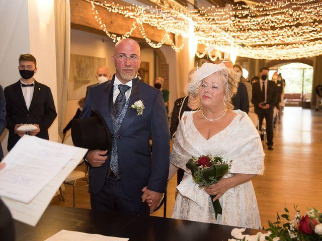 Il matrimonio di Cinzia e Marzio a Campi Bisenzio, Firenze 19