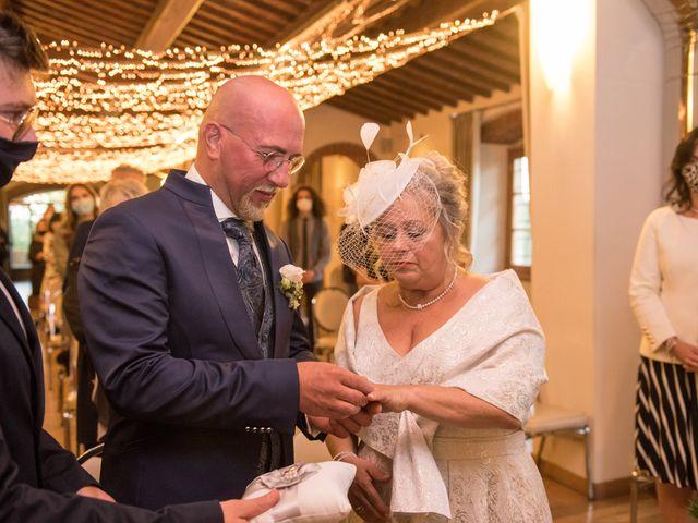 Il matrimonio di Cinzia e Marzio a Campi Bisenzio, Firenze 21