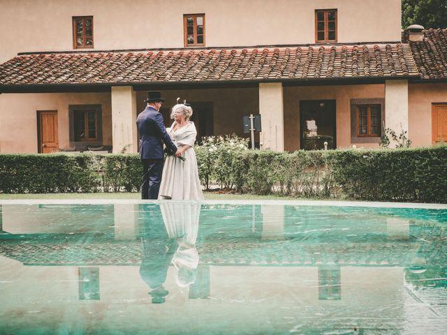 Il matrimonio di Cinzia e Marzio a Campi Bisenzio, Firenze 27