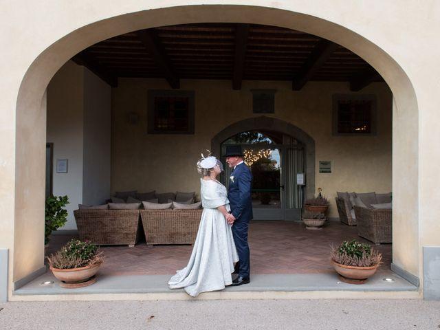 Il matrimonio di Cinzia e Marzio a Campi Bisenzio, Firenze 34