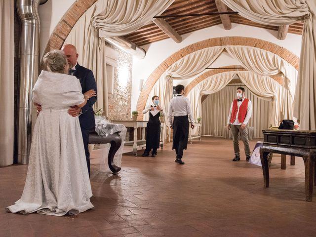 Il matrimonio di Cinzia e Marzio a Campi Bisenzio, Firenze 43