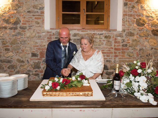 Il matrimonio di Cinzia e Marzio a Campi Bisenzio, Firenze 45