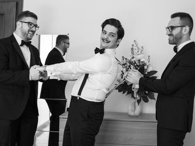 Il matrimonio di Giulia e Giuseppe a Vico Equense, Napoli 3