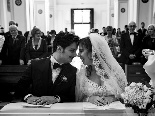 Il matrimonio di Giulia e Giuseppe a Vico Equense, Napoli 15